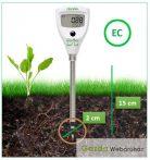 Szúró elektródás EC mérő HI-98331+ ajándék könyv