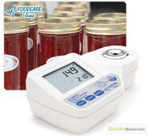 Refraktométer sótartalom élelmiszeripari méréséhez