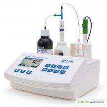 HI 84502 Minititrátor a bor teljes savtartalmának méréséhez