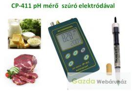 CP-411 pH-mérő félkemény anyagok mérésére