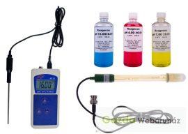 AD-111 Hordozható pH/mV/Temp/ORP-mérő .