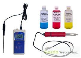 Profi hús pH mérő készlet : AD-111 pH mérő+OSH hús pH elektróda