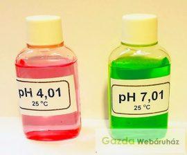 pH mérő kalibráló oldat