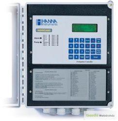 HI8000 pH és EC, panel tápoldatozó vezérlők 16 sectors , 230V.