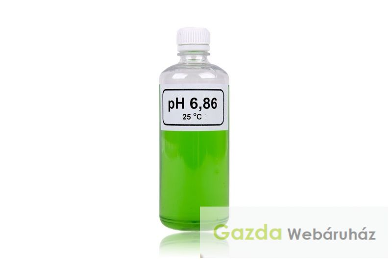 PH mérő kalibráló oldat pH 6,86 100 ml