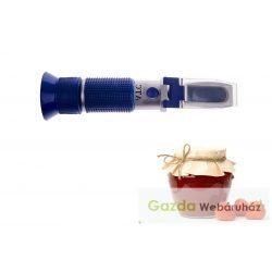 ASZU, LEKVÁR  refraktométer RHB-62ATC  + kalibráló folyadék
