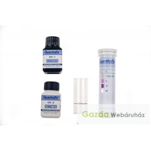 cianid tesztkészlet pálinka cián tartalmához QUANTOFIX 91318