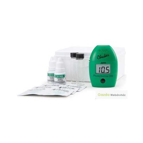 HI 706 Koloriméter a foszfortartalom méréséhez a magas tartományban