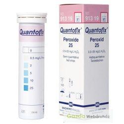 QUANTOFIX Peroxid-25 gyorsteszt 0-25 mg/l