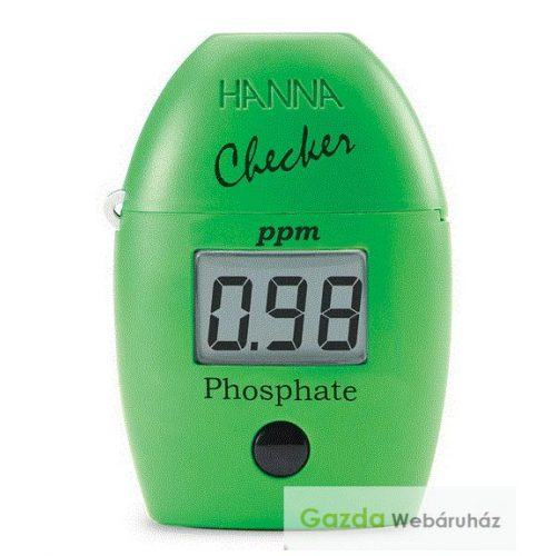HI 713 – Kézi fotométer foszfáttartalom méréséhez