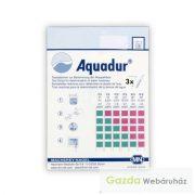 AQUADUR vízkeménység tesztcsík 0-25 od, 100 teszt/doboz