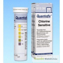 QUANTOFIX Klór Sensitive tesztcsik 0,1-10 mg/l Cl2