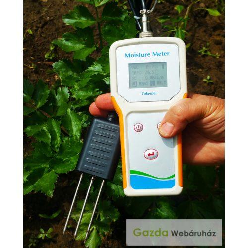 Takeme-10EC talajnedvesség, EC és hőmérséklet mérő