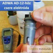 ADWA AD-12 pH mérőhöz csere elektróda tároló oldattal