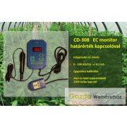LABORNITE CD-308 EC monitor határérték kapcsolással