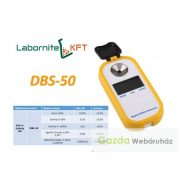 DBS-50 digitális refraktométer sótartalom mérésére