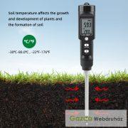 EC-8801 Vízálló talaj EC és hőmérséklet teszter