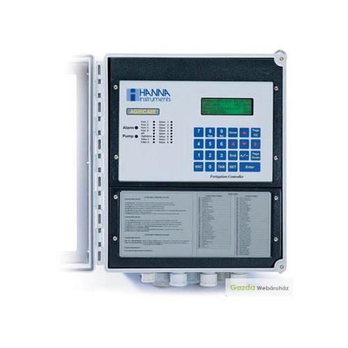 HI8000 pH és EC, panel tápoldatozó vezérlők 8 sectors , 230V.