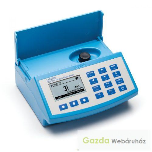HI 83325 Fotométer  tápoldat  és talaj  vizsgálatára