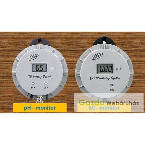 ECO pH+EC monitorok verhetetlen áron!
